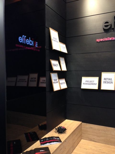 Effebi Shopfittings' Stand @Retail Design Expo