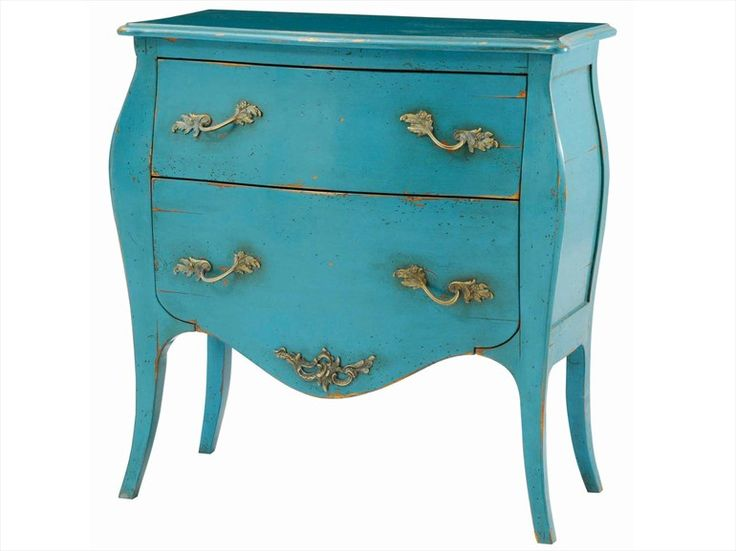 Wooden bedside table with drawers dubois by roche bobois design jean fran ois marchou blue for Table ardoise roche bobois