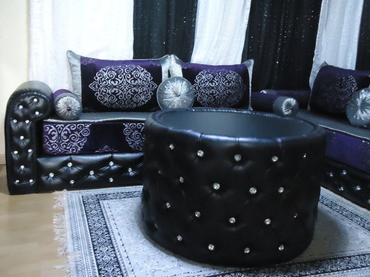84 best images about salon marocain on pinterest turquoise pattern houses in texas and mauve. Black Bedroom Furniture Sets. Home Design Ideas