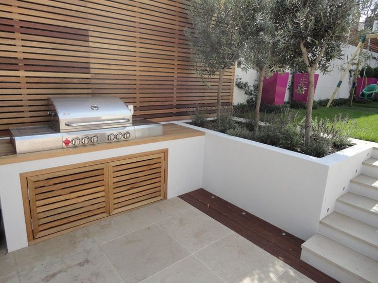 Best 25 built in bbq ideas on pinterest bbq area built for Built in barbecue grill ideas