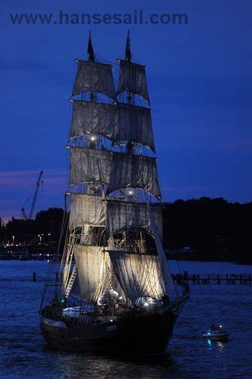 """Tall Ship """"Mercedes"""" at Hanse Sail Rostock"""