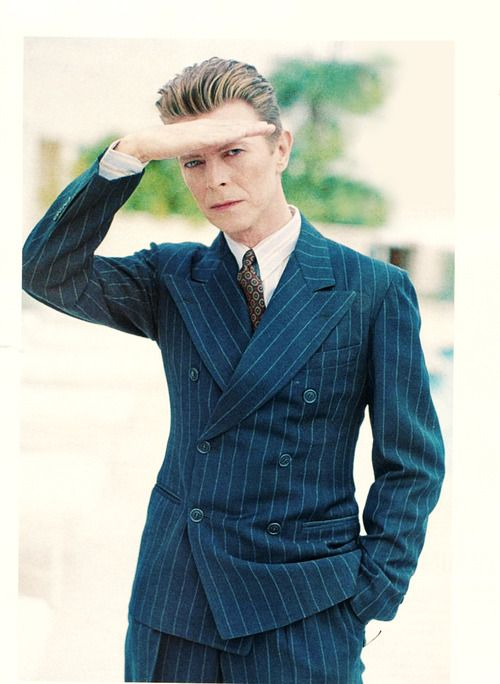 That man can wear a suit!