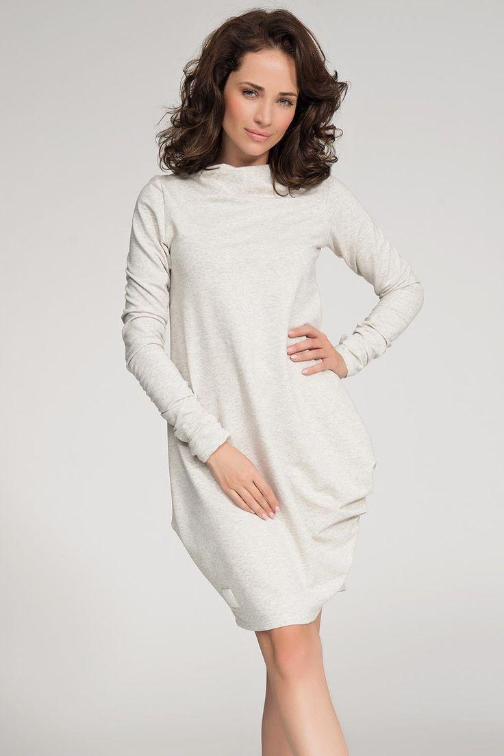 https://www.margery.pl/Sukienka-Model-NU31-Beige-Melange-p10201  Zapraszam!