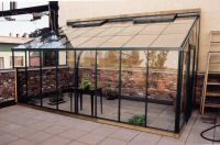 Double Glass Lean-to Greenhouses, Greenhouse Kits, Hobby Greenhouses, Commercial Greenhouse Kits
