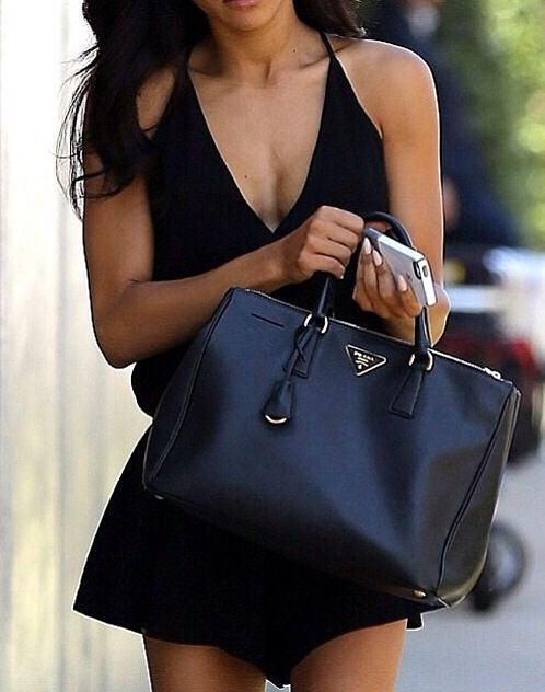 All Black Handbag | Luggage And Suitcases