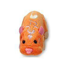 Zhu Zhu Mommies Lullaby Hamster Mrs Peabody by Cepia LLC. $12.49. * Zhu Zhu Pets Babies Lullaby Hamster Mrs Peabody * Like any good mummy, you can cradle, swaddle and shower your babies with tons of hugs and kisses. * These hamster mothers care for and look after the babies in the nursery and other playsets. * The hamsters can activate special features on each power pod playset.
