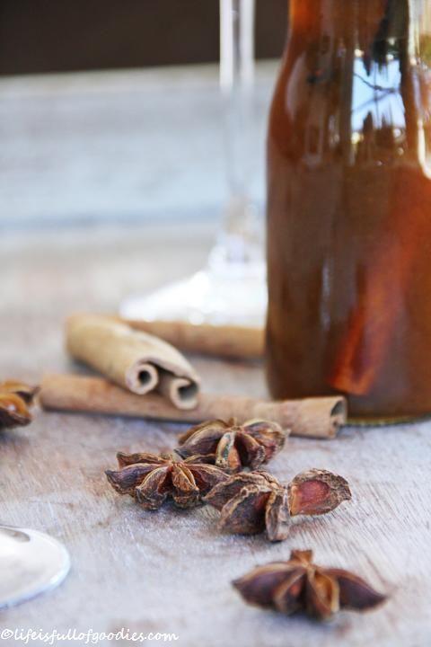 Pumpkin Spice Chai Sirup Prosecco