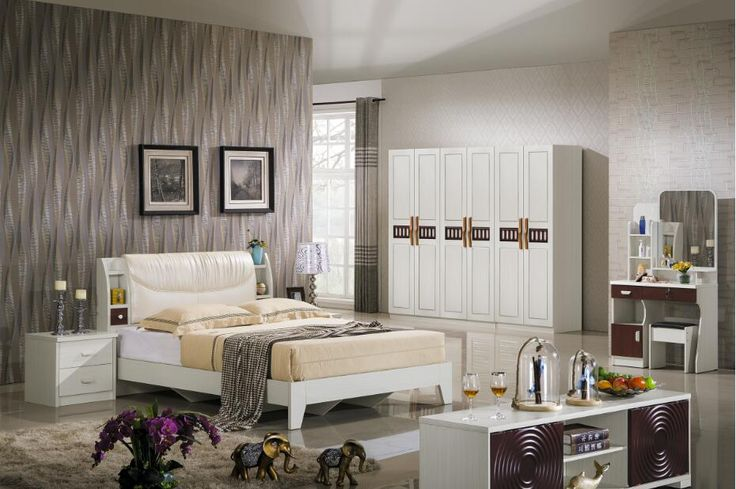 modern bedroom set/you can choose color you like