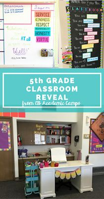 5th grade classroom decor and organization ideas! She walks you through her…
