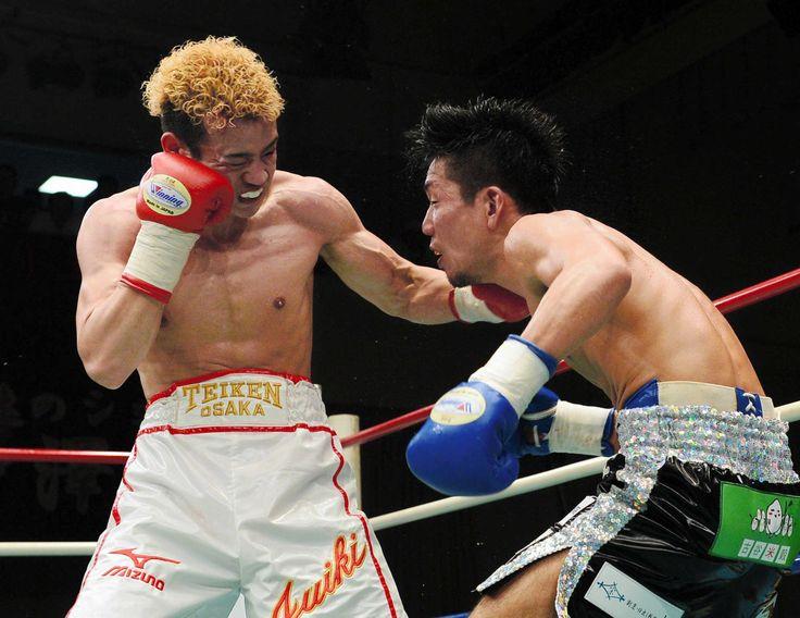寿以輝、人生初ダウンも大逆転TKO勝ち!25年ぶり聖地に響いた「辰吉」コール #ボクシング
