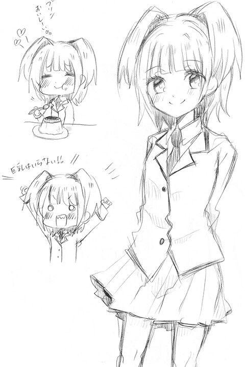Draft drawings, I think? - DA | Kayano Kaede | Assassination Classroom