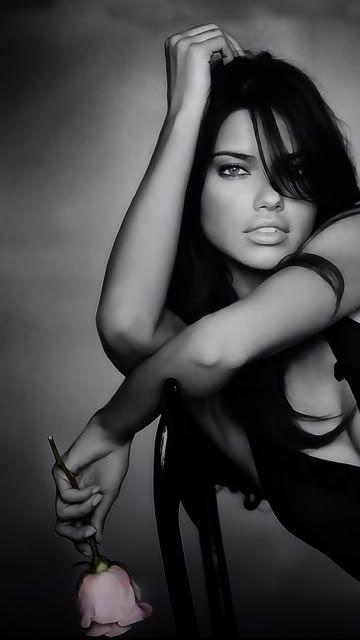 "Adrianna Lima (""Top Sexy and Beautiful"" per community, from Kythoni: Adrianna Lima board ) pinterest.com/kythoni"