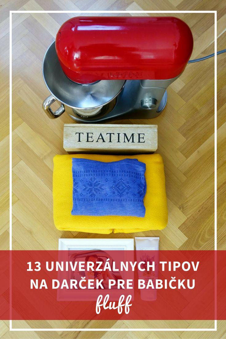 13 univerzálnych tipov na darček pre babičku