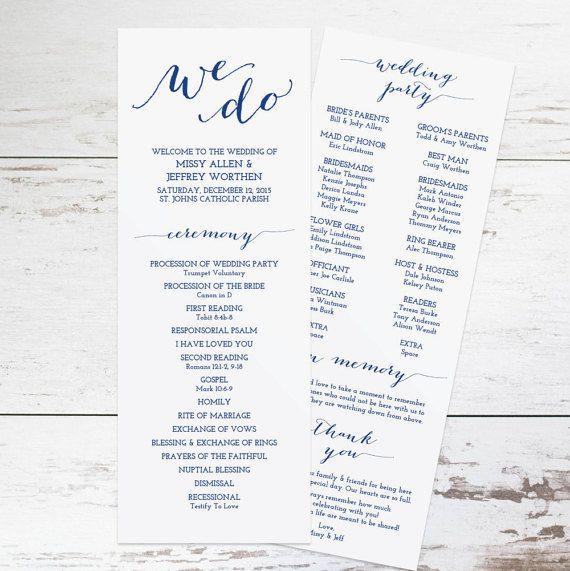 Best 25+ Wedding program templates ideas on Pinterest   Fan ...