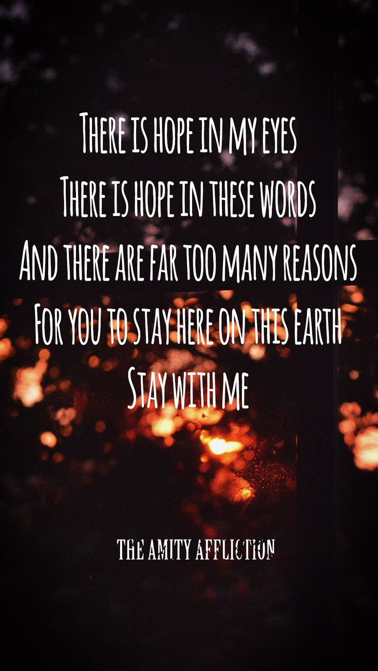 The Amity Affliction // Let The Ocean Take Me // Don't Lean On Me