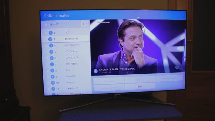 Como Ordenar Los Canales En Un Tv Samsung Smart Tv Smart Tv Ordenador Samsung