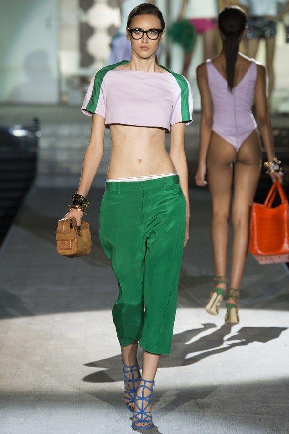 Milan Fashion Week Day 2 DSquared2 Spring/Summer 2015 Ready to wear 18 September 2014