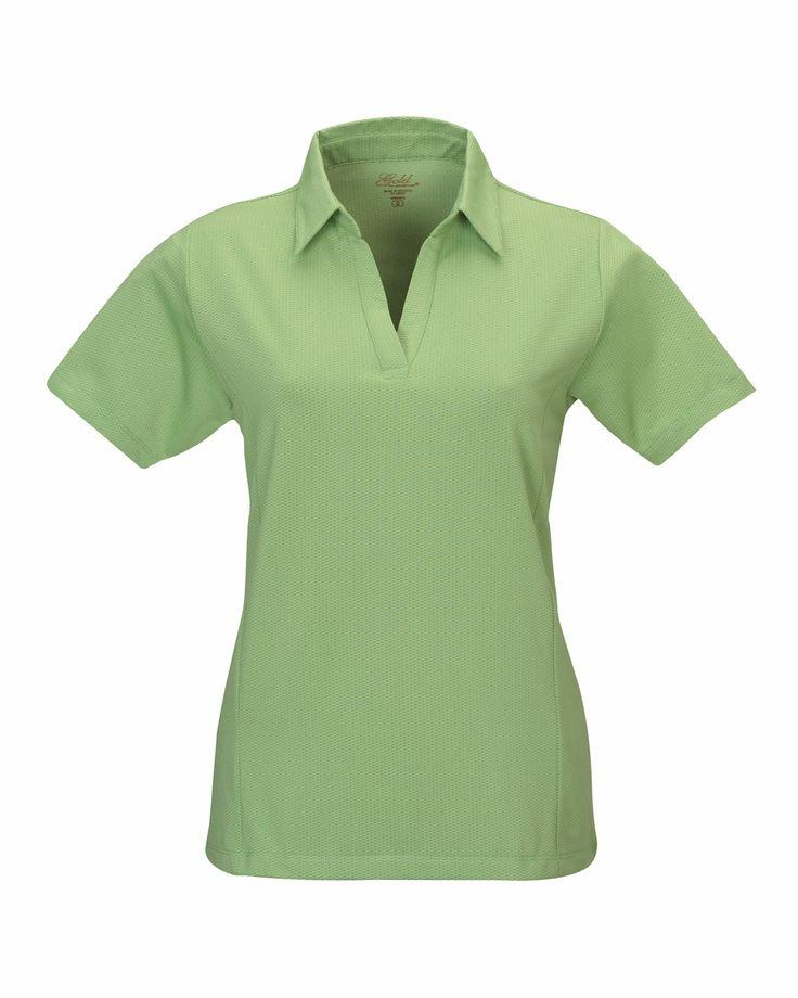 Tonal Textured Diamond Tri-Mountain Ultracool Polo Shirt.  Tri mountain 436