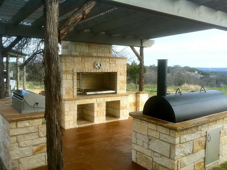 Building a Brick Wood Smoker | Grillworks Inc Wood Grills - Customer Grill Photos