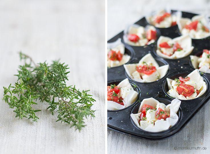 Tomaten-Schafskäse-Tarte