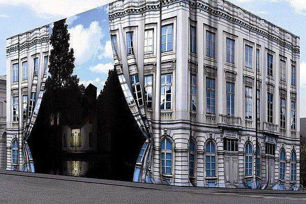 Музей Рене Магритта в Брюсселе, Бельгия