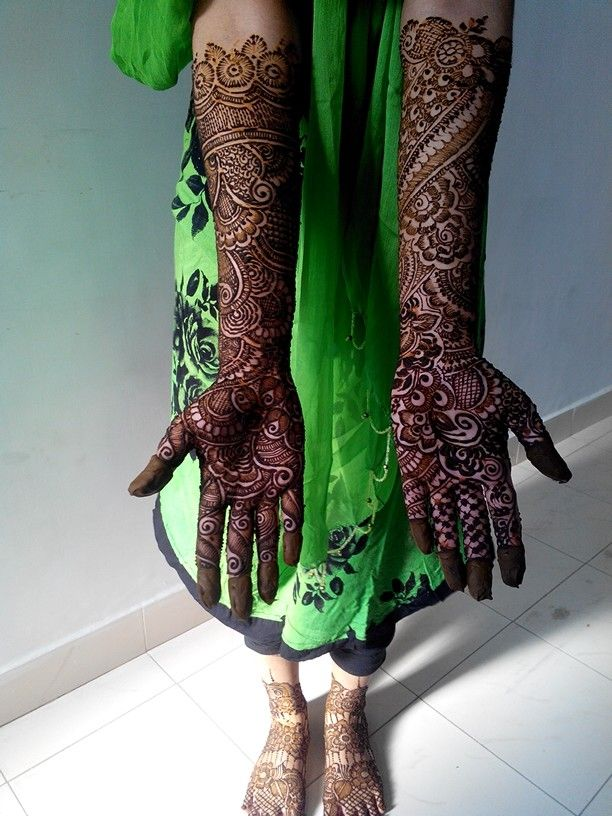 Bridal henna by sultanasami