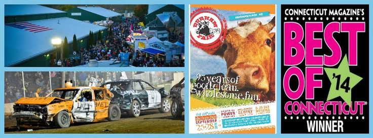 The Durham Fair is celebrating their 95th Year.  9/25 through 9/28.  Get more information at DurhamFair.com