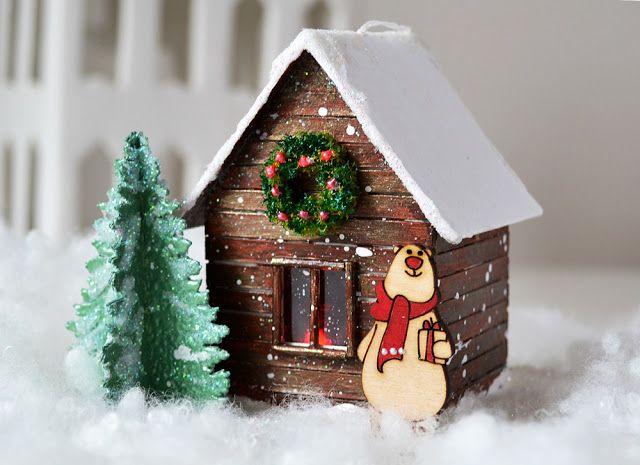 "Модное хобби: Игрушка на елку ""Домик медведя"". МК от Tatiana Yemelyanenko"