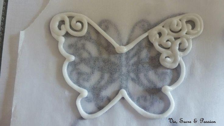 Vie, Sucre & Passion: Comment faire des papillons en Glace Royale