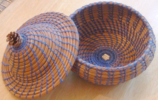 Pine Needle Basket Weaving Instructions | Teri Odell Peg's Basketry