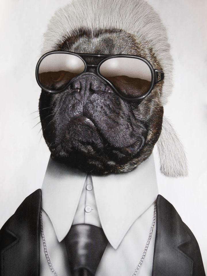 Top dog Karl (Lagerfeldt)