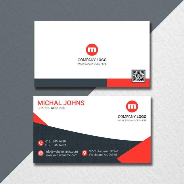 Landscape Business Card Design Business Card Template Design
