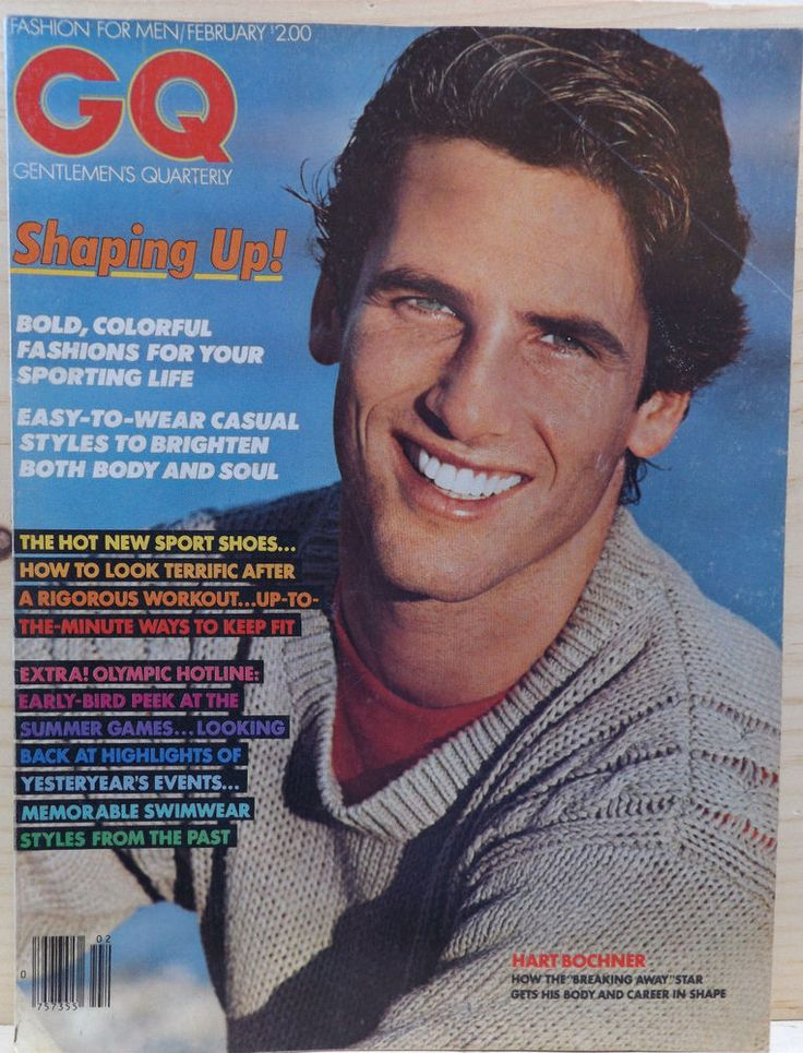 GQ Magazine FEBRUARY 1980 Hart Bochner #Fashion #Vintage #GQ #Advertising #BruceWeber #hughbochner
