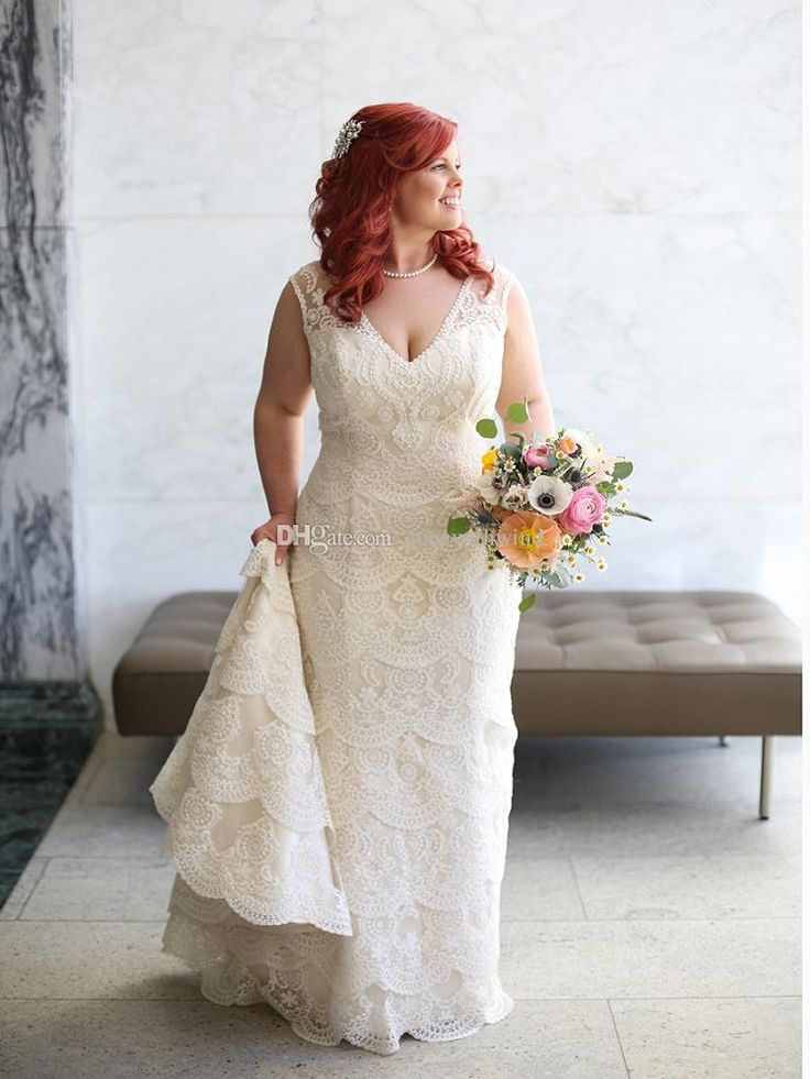 Best 25 plus size wedding dress short ideas on pinterest for Shapewear for mermaid wedding dress