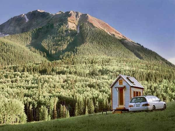 The smallest Tumbleweed home The Compact Style of Tiny Tumbleweed Homes