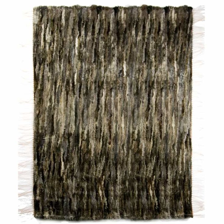 GIE EL 'Recycled' Natural Fur Rug - Melange 100x160cm - Design Shop