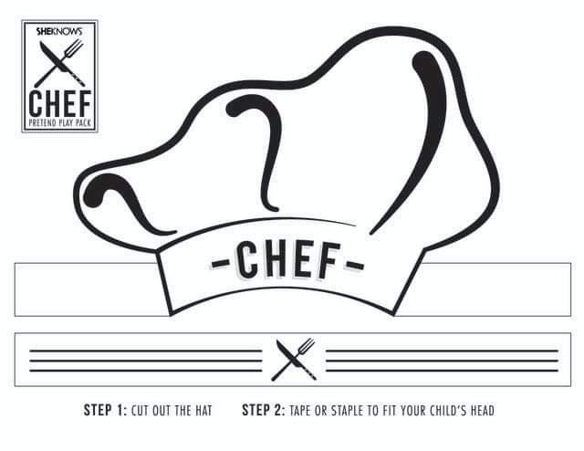 Chef Hats For Kids Image By Irina Milea On Toamna Free Printable