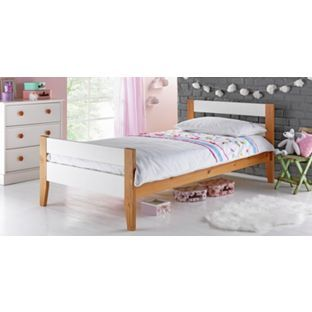 Buy Two Tone Wooden Single Bed - White at Argos.co.uk - Your Online Shop for Children's beds, Children's beds.