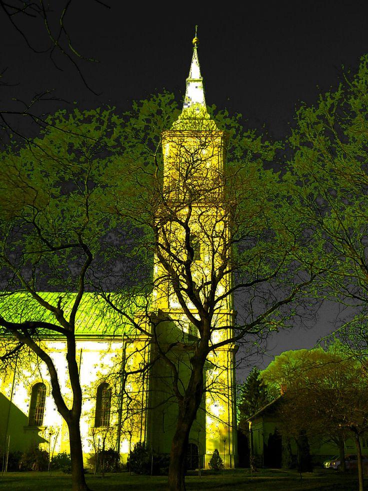 Püspökladány, Református templom. (Másképpen)
