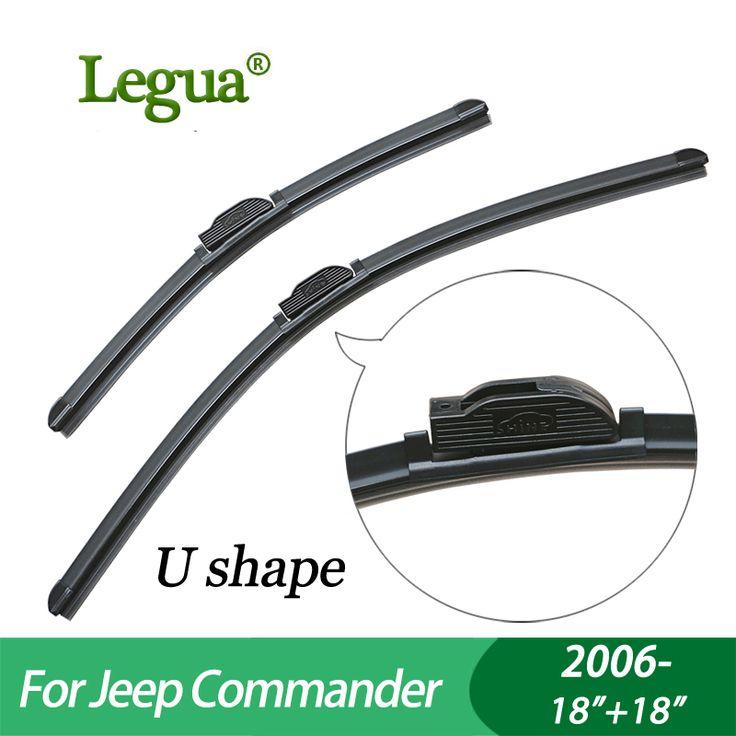 """Legua Wiper blades for Jeep Commander(2006-),18""""+18"""",car wiper,Boneless, windscreen wiper, Car accessory #Affiliate"""