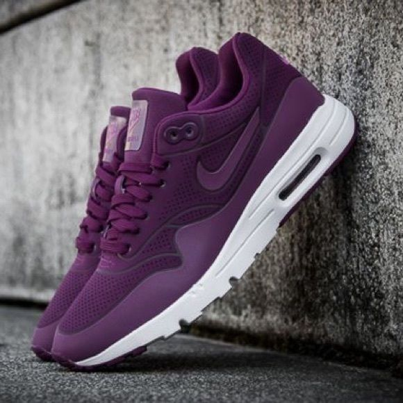 ea2ce809f937 Nike Air Max 1 Ultra Moire mulberry   purple   white. Womens size 8 NEW  with box (no lid)