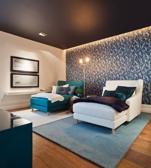 Sof s y butacas para zonas de descanso tumbonas para sala - Sala de cine en casa ...