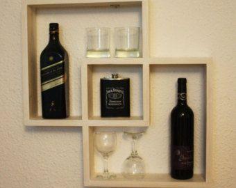 Geométricos estantes, estantes flotantes estantes, decoración para el hogar, adornos de pared, organizadores, hogar y vida, regalo de inauguración de la casa