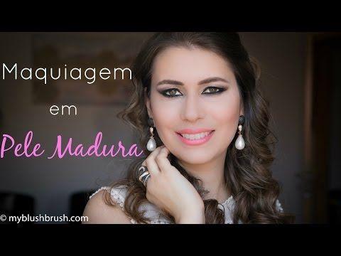 DICAS de Maquiagem para Pele Madura - O que usar e o que evitar! - YouTube