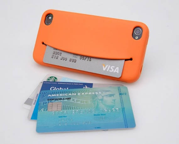 Nom Nom iPhone Case- great place to keep your credit card or earphones! #iPhone