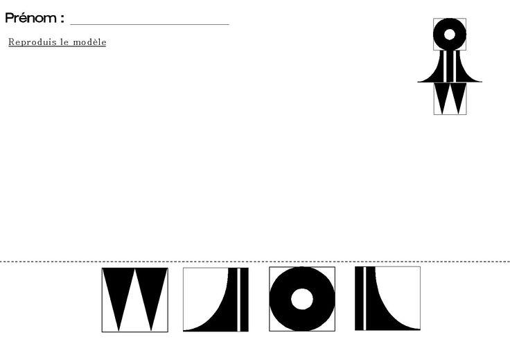tangram pour maternelle de la fillette