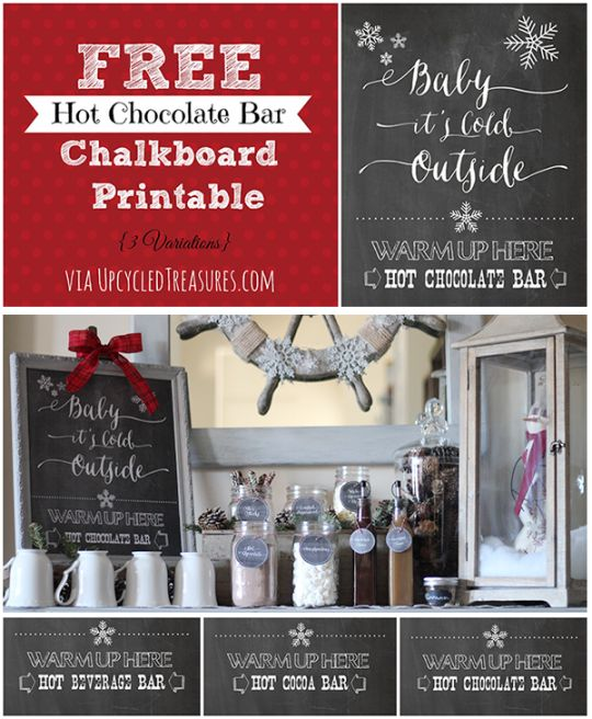 coffee and hot cocoa bar - Google Search