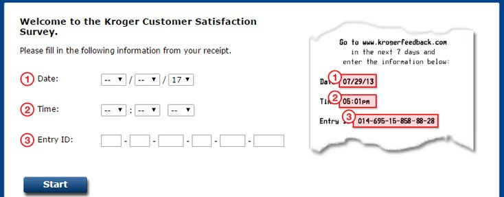 Kroger Feedback Customer Satisfaction Survey Kroger Feedback Www