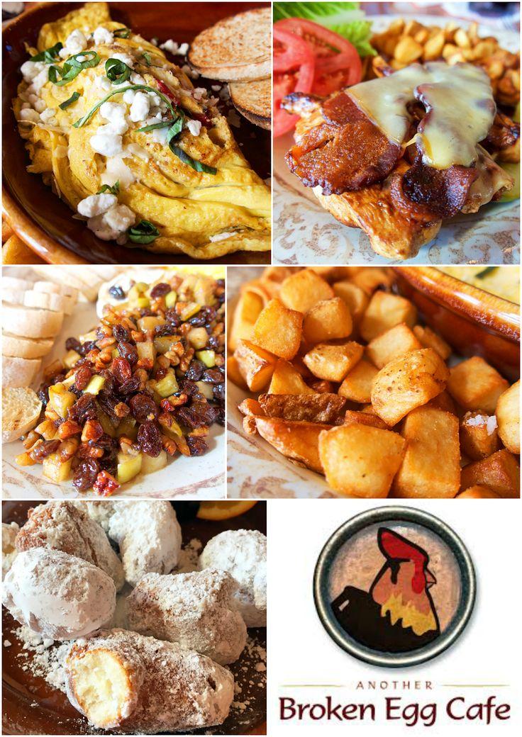 Another Broken Egg Cafe - fantastic brunch! MUST get the Biscuit Beignets! SO good!