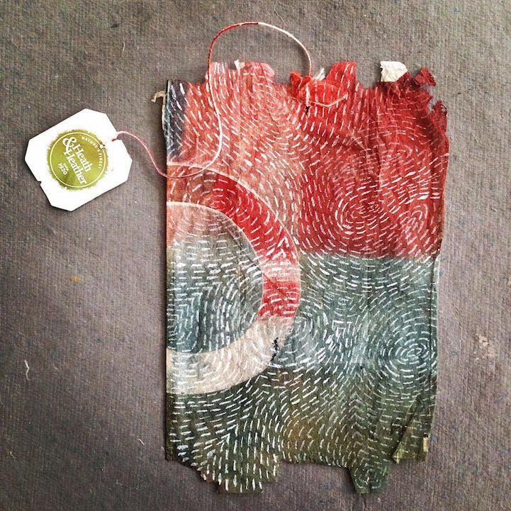Artist Uses Soggy, Stained Tea Bags as Canvas for Detailed Daily Art   http://yourartitude.com/en/illustrations/artist-uses-soggy-stained-tea-bags-as-canvas-for-detailed-daily-art